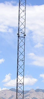 Radio broadcast tower